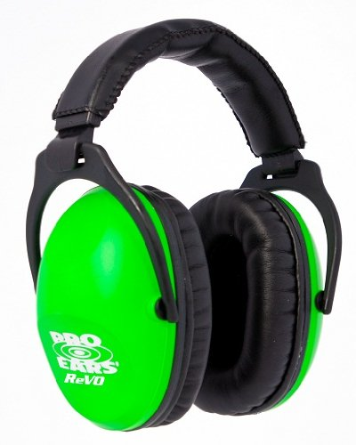 Pro Ears Revo Passive Ear Muffs (Neon Green)