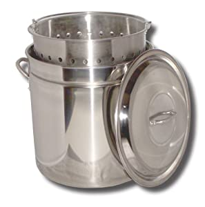 King Kooker KK36SR Ridged Stainless Steel Pot, 36-Quart from Metal Fusion, Inc.