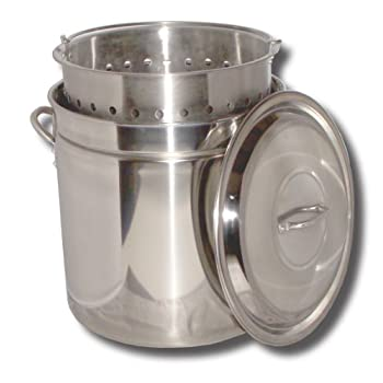 Metal Fusion KK36SR 36QT Stainless Steel Pot/Basket