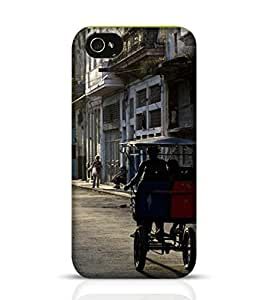 Apple iPhone 4 Phone Case for Streets Of Old Havana Back Cover for iPhone 4 Multicolor