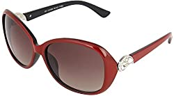 Omnesta Women's Over-sized Sunglasses (Violet) (PD075)