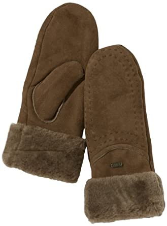 Emu Australia Women's Otways Mittens Chocolate Medium/Large