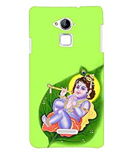 Fuson Little Krishna Back Case Cover for Coolpad Note 3