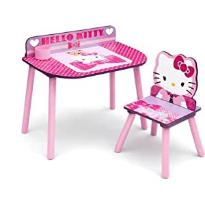 Hello Kitty Desk And Chair Set Toys Games