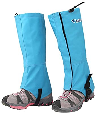 BLUEFIELD Unisex Heavy Duty 600D Nylon Leg Gaiters Leggings Cover for dordoor fishing Skiing Snowboarding Hiking Climbing Hunting