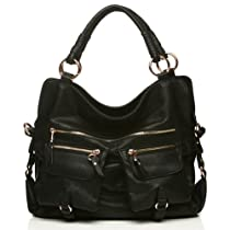 Hot Sale Urban Expressions Afternoon Handbag (Black)