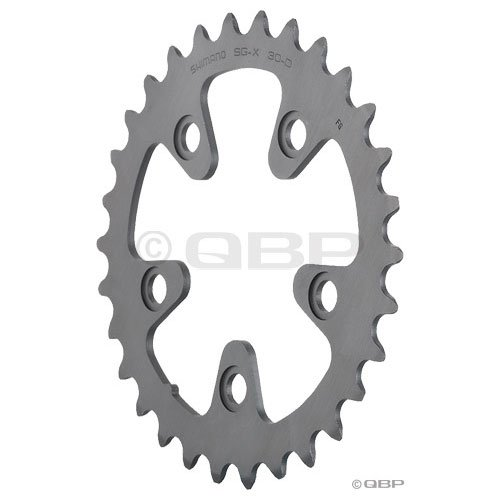 Shimano Ultegra FC-6604G 30 Tooth 10-Speed Triple Chainring