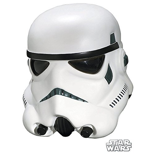 Star Wars Stormtrooper Collectors Helmet, White, One Size Costume