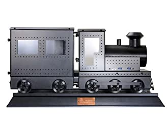 LIANLI 蒸気機関車型Mini-ITXケース ブラック PC-CK101