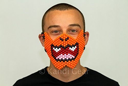 Charmander Pokemon Kandi Mask Full by Kandi Gear