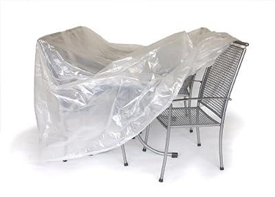 Abdeckhaube für Gruppe 300x200cm, oval, transparent von gartenmoebel-einkauf auf Gartenmöbel von Du und Dein Garten