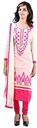 JYOTI Women's Kora Silk Unstiched salwar Suit (jbam-2, Biscuit)