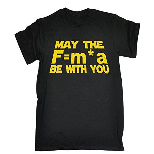 123t-may-the-mens-f-a-m-be-with-you-newtons-vigueur-de-la-loi-style-loose-t-shirt-imprime-noir-large