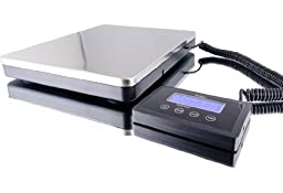 Digital Bench Scale High Capacity 180 kg / 360 lb X 0.1 lb, Stainlrss Steel Plate cover,NEW