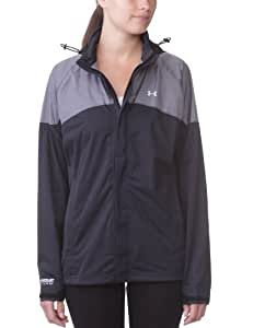 Under Armour Ultimate Rain Jacket Veste zippée manches courtes femme Noir XS