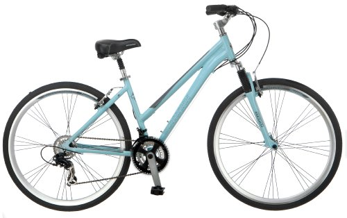 Schwinn Schwinn Network 3.0 Women's Hybrid Bicycle, Light Blue