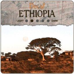 Decaf Ethiopia: Longberry Harrar Coffee, 5-Pound Bag