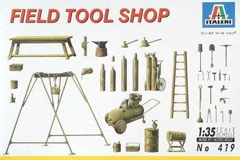 ITALERI 550419 1/35 Field Tool Shop ITAS0419 - 1
