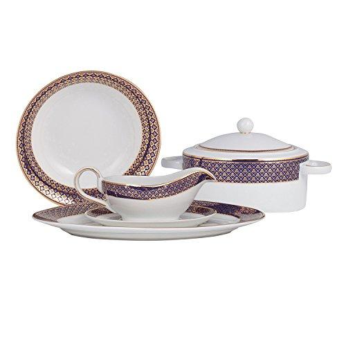 shinepukur-golden-jublee-fine-china-special-serving-set-blue