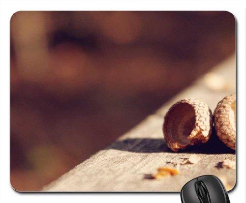 Acorn Shells Mouse Pad, Mousepad (Winter Mouse Pad)