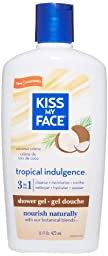 Kiss My Face Natural Shower Gel and Body Wash, Tropical Indulgence, 16 Ounce