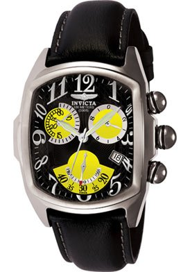 Invicta Men's 3374 Lupah Chronograph Leather Watch