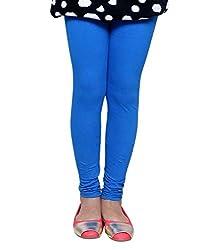 Liana Women's Cotton Legging(RFLC01_Blue_FreeSize)