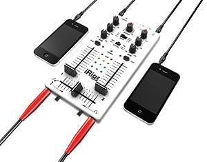 IK Multimedia iRig Mix DJ-style mixer for smartphones and tablets