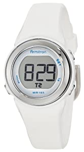 Armitron Sport Women's 45/7022WHT Sport Watch with White Band