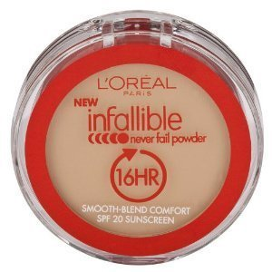 L'Oreal Paris Infallible Never Fail Powder, Nude Beige, 0.30 Ounce