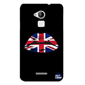Designer COOLPAD Note 3 Case Cover Nutcase - British Lips