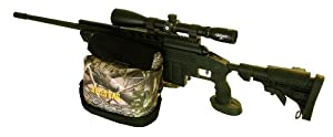 "BULLS BAG #1801-APG AR/PRO-Series New-APG-Real Tree® Camo/Suede 10"" AR Tactical/Hunter Shooting Rest (Unfilled)"