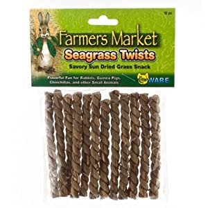 Click to buy Rabbit Toy: Ware Manufacturing Seagrass Twists from Amazon!