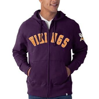 NFL Minnesota Vikings Mens Striker Full Zip Jacket by