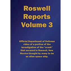 Roswell Reports, Volume 3