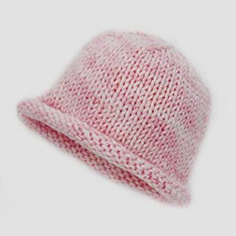 LibraKnits Spro Cap, Newborn - Frosted Rosewater