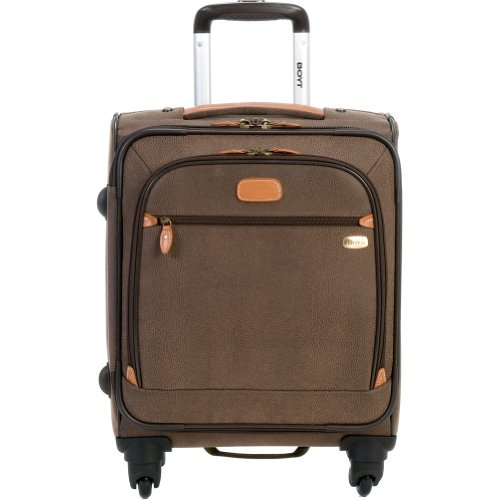 Boyt Luggage Edge 20 Inch Expandable Spinner, Brown, One Size special offers