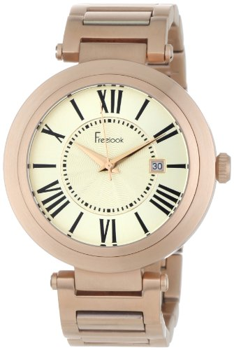 Freelook Unisex HA1134RG-9A Cortina Roman Numeral Matte Rose Gold  Watch