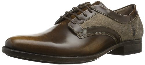 Fly London Mens PAWL Casual Brown Braun (COGNAC/TAUPE 004) Size: 44