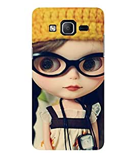 Evaluze cute girl Printed Back Cover for SAMSUNG GALAXY ON5 2015