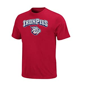 Minor League Iron Pigs T-Shirt Style Jersey by Majestic