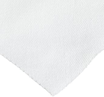 "Berkshire Twillx 1622 Woven Cotton Wiper, 12"" Length x 12"" Width (Case of 2 Packs, 150 per Bulk Pack)"
