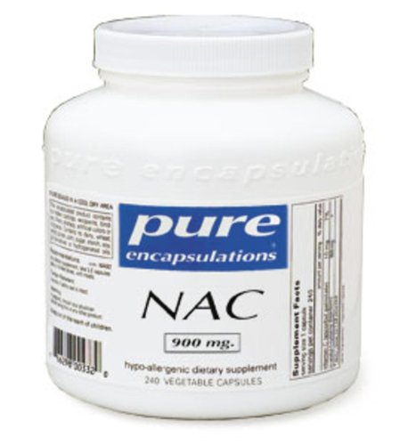 Pure Encapsulations NAC (N-acetyl-l-cysteine) 900 Mg, 240ct (N Acetyl Cysteine 1000 compare prices)