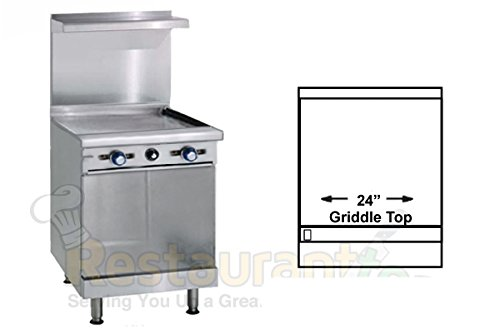Commercial Stove Top Griddle front-630388