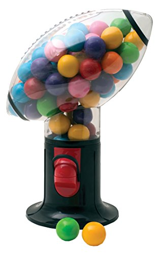 Football Snack Dispenser Gumball Machine Dispense Gum Snacks Peanuts On Game Day Makes Great Fantasy Football Gift - Ideas In Life (Football Dispenser compare prices)