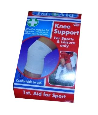 First Aid Knee Support, Medium Size, 075/228