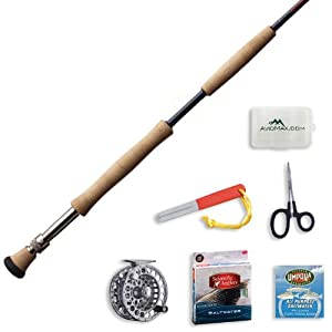 Redington Predator Fly Fishing Rod and Delta Reel Outfit-12wt 9ft 4pc (1290-4) by Redington