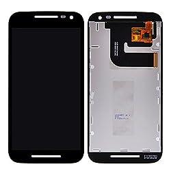 Online For Good(TM) Full LCD Touch Digitizer Screen Replacement for Motorola MOTO G3 G 3rd Gen xt1544 xt1550 xt1540 XT1541 XT1543 Third generation / Motorola Moto G Turbo Edition - Black