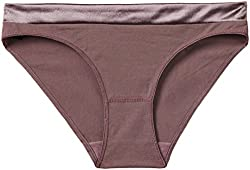 SOIE Women's Low Rise Brief with Satin Waistband (CP-1103_Mocca_XXL)
