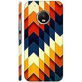 AMAN Colours Design 3D Back Cover For Moto G5 Plus